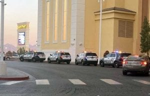 South Point valet area shooting incident in Las Vegas