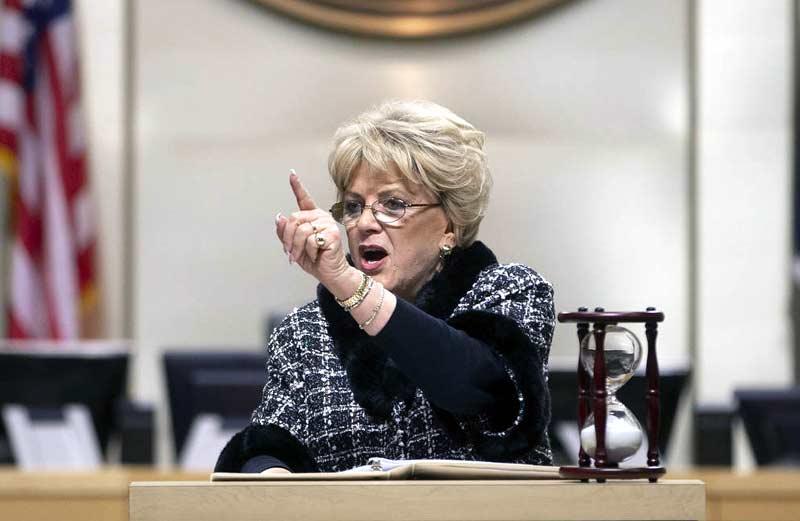 Las Vegas Mayor Carolyn Goodman
