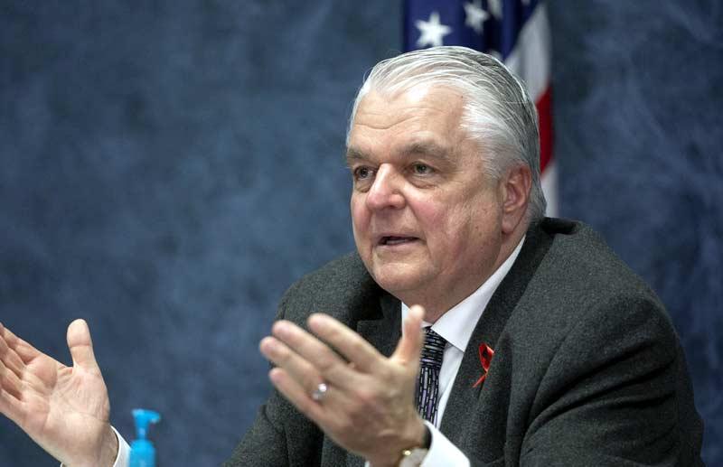 Steve Sisolak, Nevada Governor