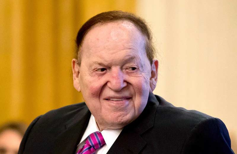 Sheldon Adelson, CEO of Las Vegas Sands Corp