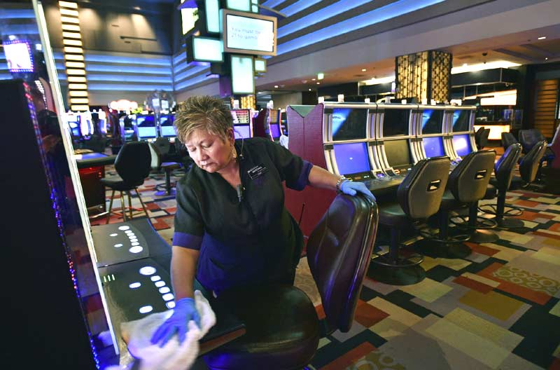 US Gambling Industry Hit By Covid