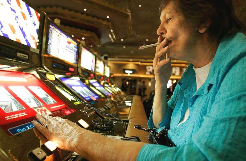Smoking ban in casinos