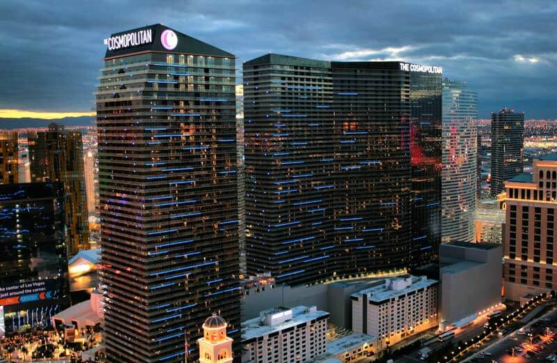 The Cosmopolitan and Wynn casino are ready for 100% capacity
