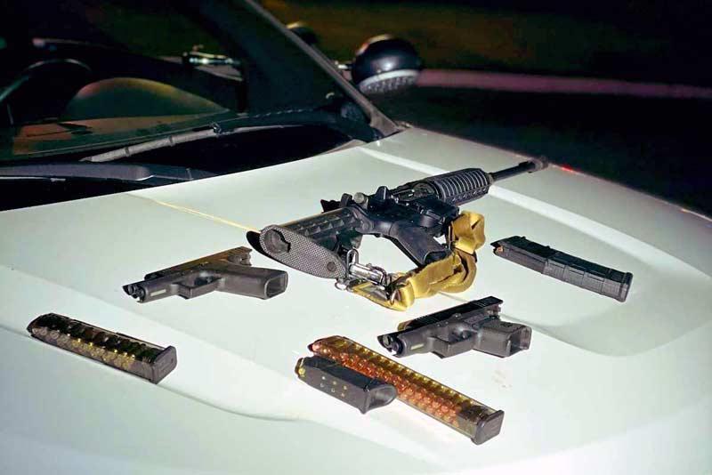 Gun arrests in Las Vegas