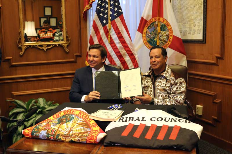 Seminole Tribe compact in the state of Florida